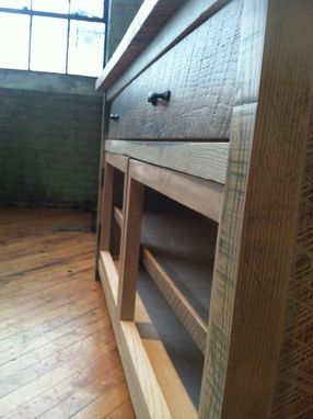 Custom Made Rustic Hutch