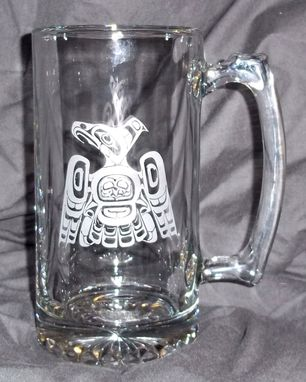 Custom Made Glass Mugs With Nw Indian Designs