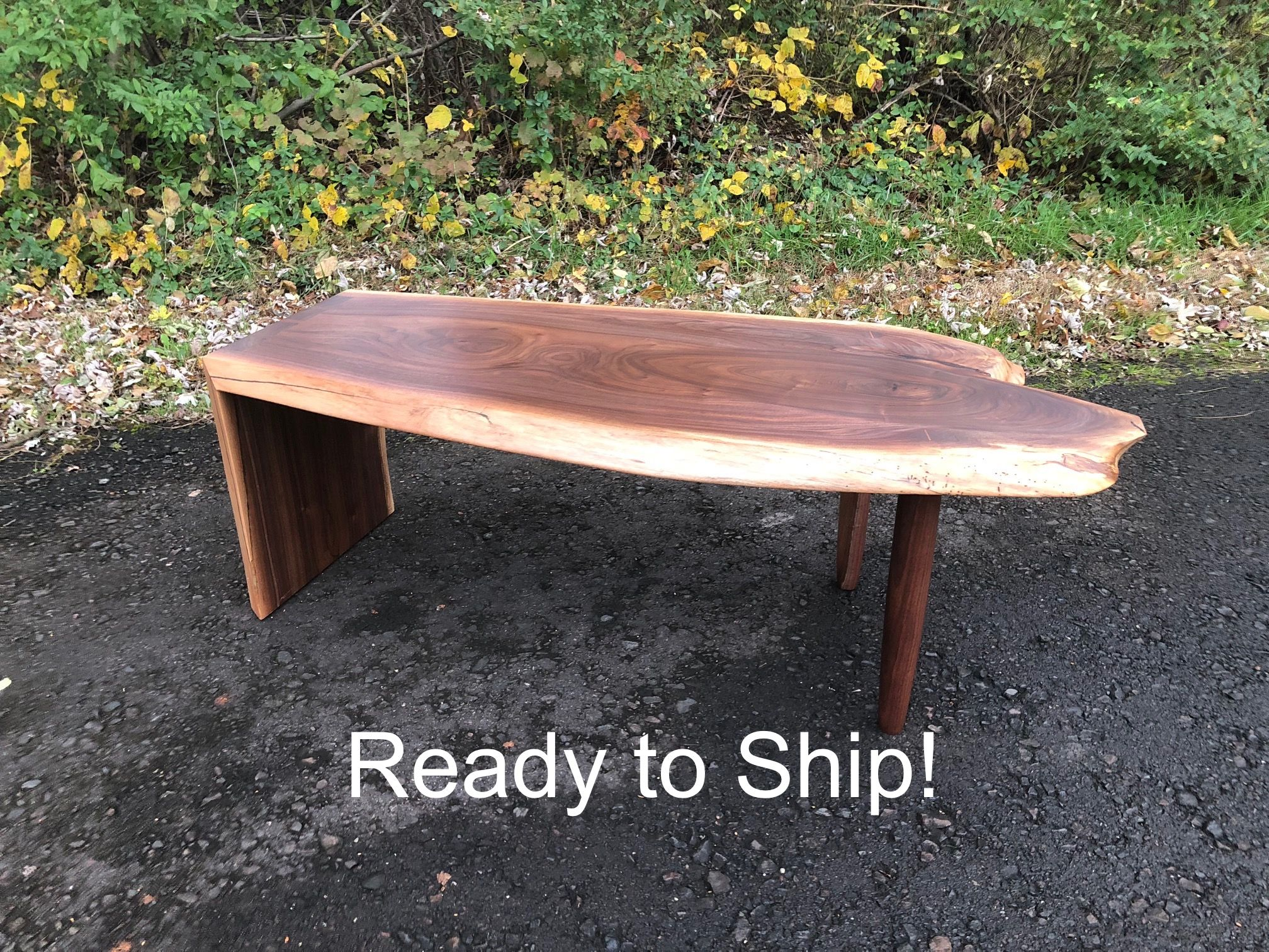 Buy Hand Made Mid Century Modern Style Walnut Coffee Table
