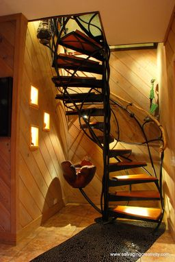 Custom Made Custom Spiral Staircase