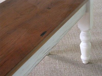 Custom Made Bench Snow White Legs