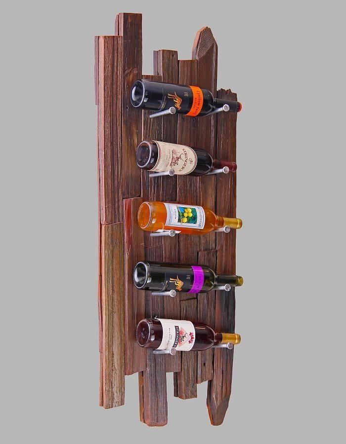 Unique Wine Rack Pallet Wine Rack Wall Wine by ... |Unique Wood Wine Rack