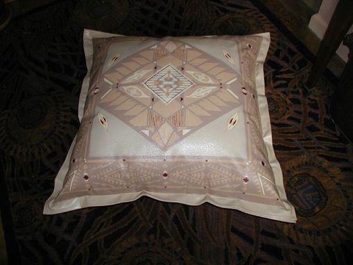 Custom Made Canvas Floor Cloth Pillow
