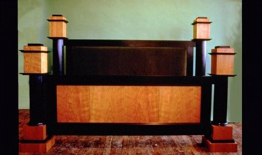 Custom Made Biedermeier Bedroom Set