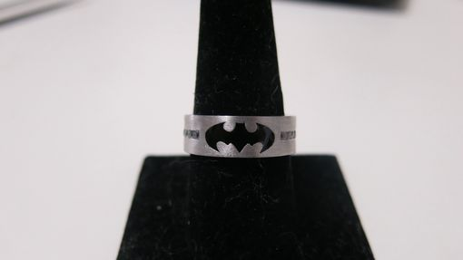 Custom Made Dark Knight Batman Wedding Ring