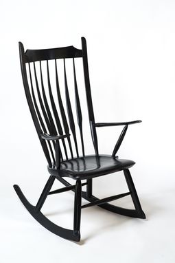 Custom Made Modern Rocking Chair