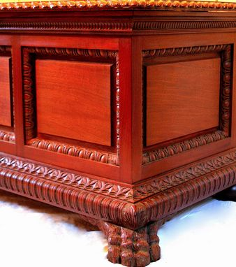 Custom Made Italian Wedding Chest -  Cassone