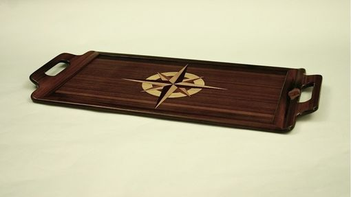 Custom Made Reclaimed Teak Serving Tray #1