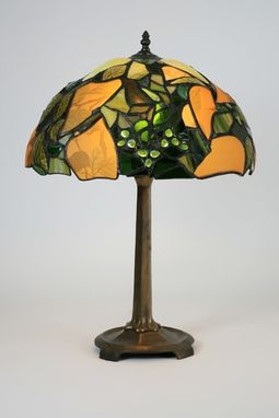 Custom Made Table Lamp - Tiffany With A Twist
