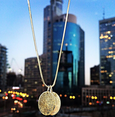 Custom Made Fingerprint Necklace