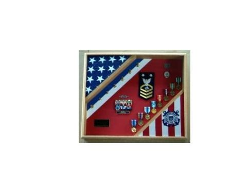 Custom Made Coast Guard Retirement Gifts, Uscg Cutter Shadow Box