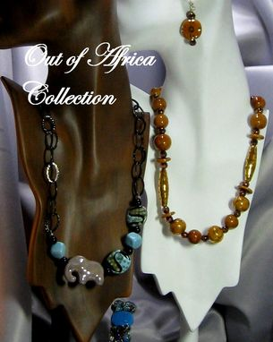 Custom Made Kazuri Bead Jewelry