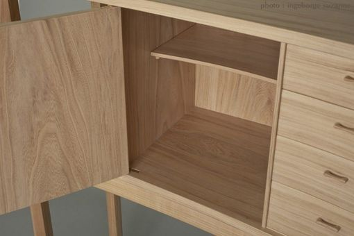 Custom Made Cabinet In Chinese Elm