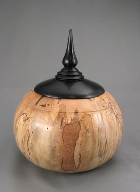 Custom Made Wooden Cremation Urn