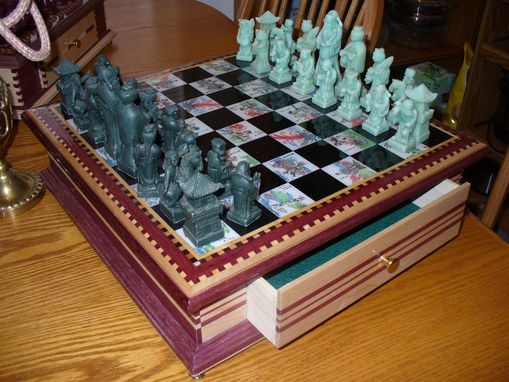 Custom Made Custom Made Chess Boards