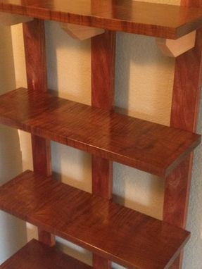 Custom Made Hanging Shelf