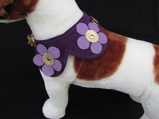 Custom Made Flower Power Dog Collar