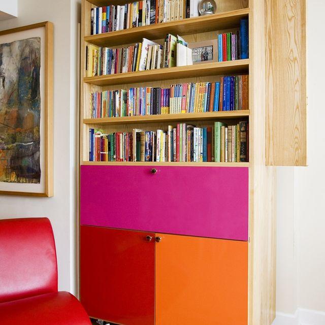 Hand Made Bookshelf-Secretary Cabinet by Gn Woodwork | CustomMade.com