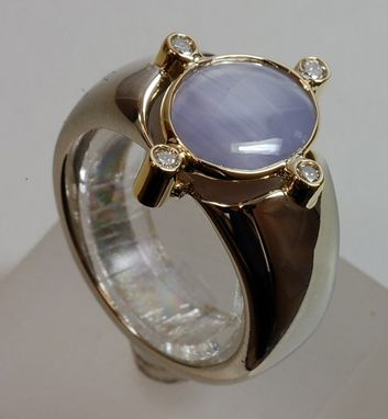 Custom Made Star Sapphire Ring
