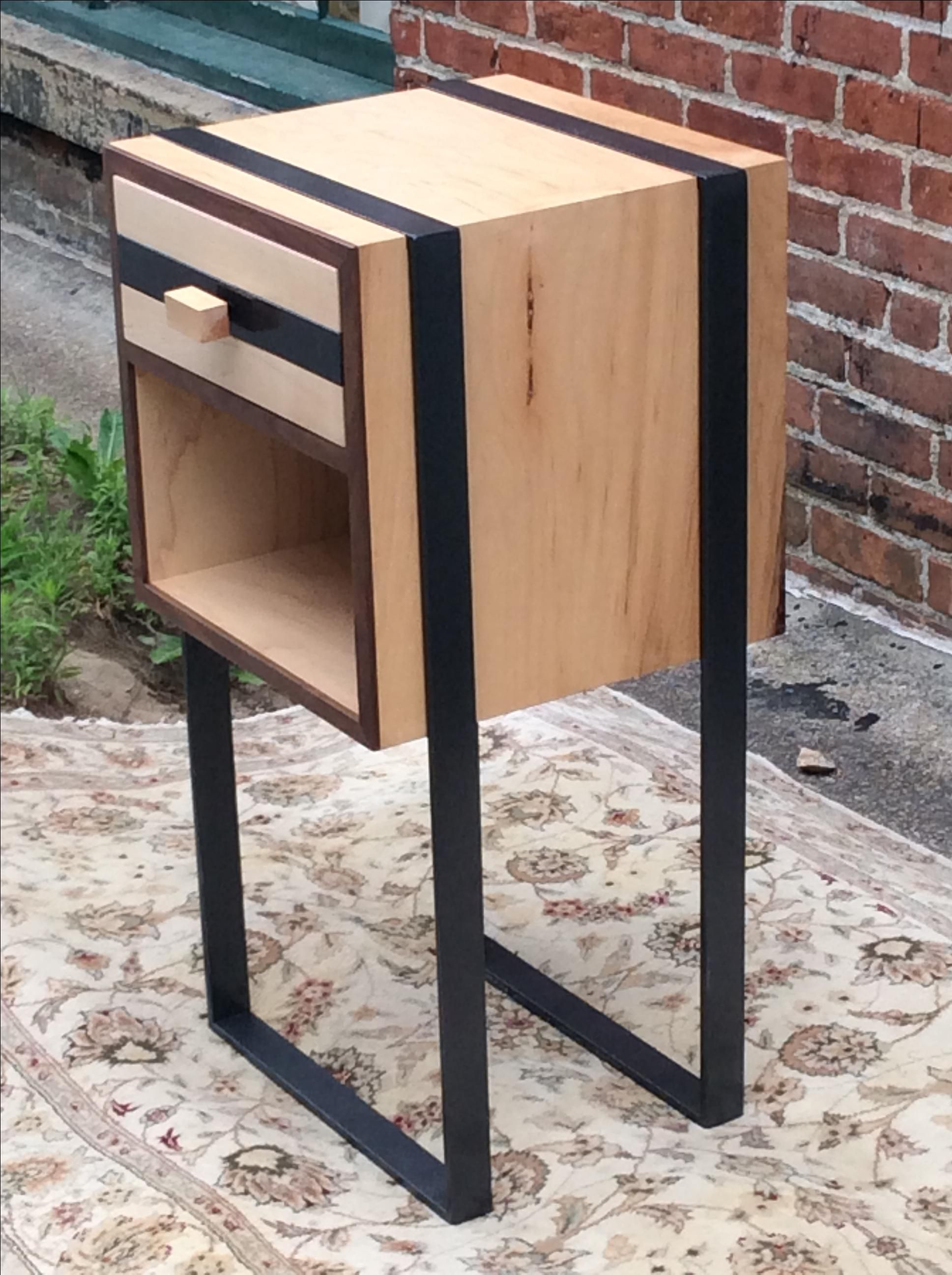 Hand Made Custom Night Stands Made To Order Walnut And