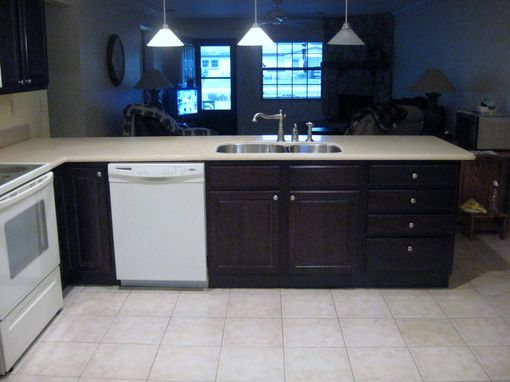 Custom Made Dark Maple Kitchen