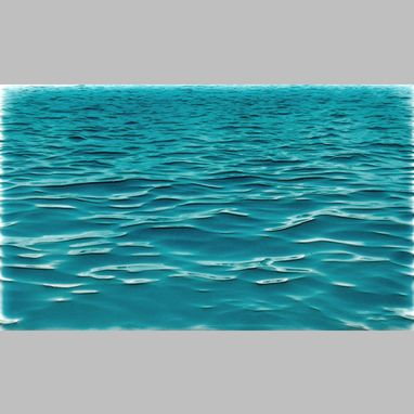 Custom Made Caribbean Water Border Tile