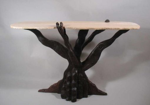 Custom Made Gnarly Old Growth Console Table