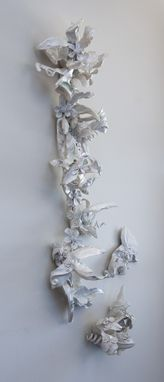 Custom Made Imagining, Unfurling Blooming Wall Sculpture