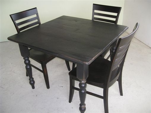 Custom Made 3 Foot Square Kitchen Or Dining Table