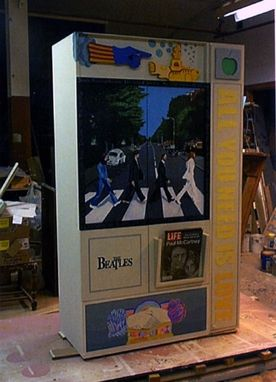 Custom Made Beatles Cabinet