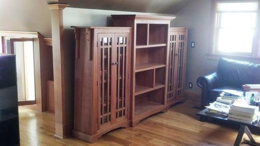 Custom Made Bookcase, Arts And Crafts