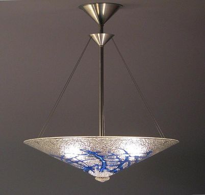 Custom Made Sapphire Bramble Cone Light