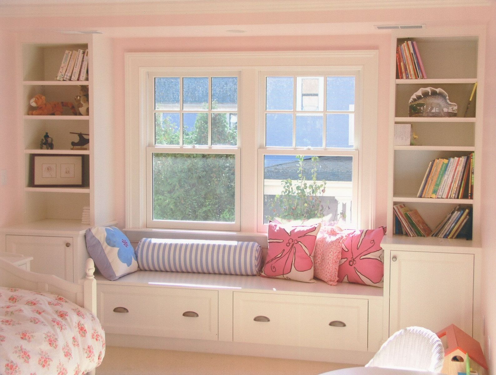 Custom Master Bedroom Window Seat by Michael Weiss Designs ...