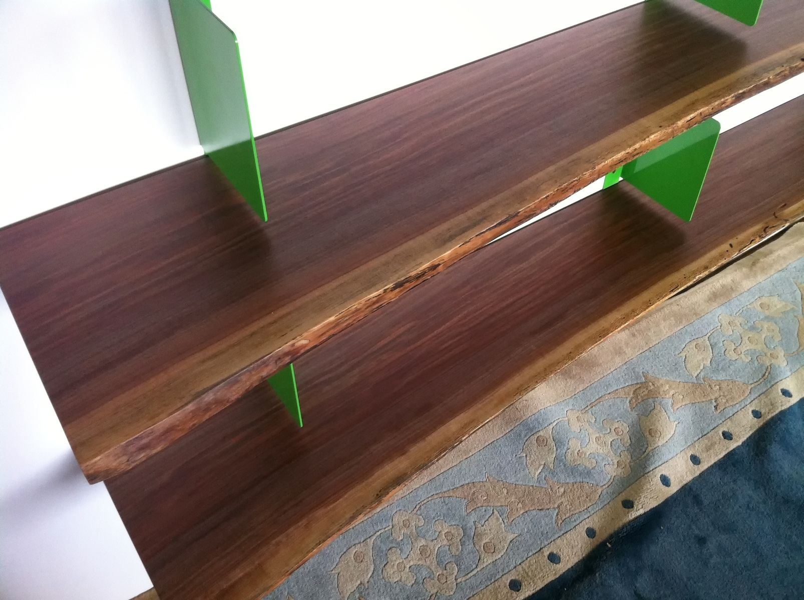 Hand Crafted Live Edge Shelving By Mann Designs