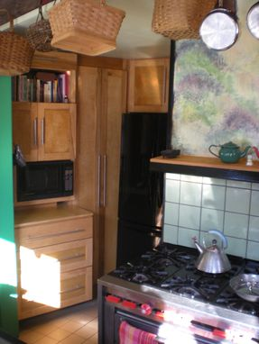 Custom Made Small Creative Kitchen And Pantry