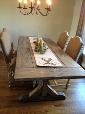 Custom Fancy X Farmhouse Table Farmhouse Dining Table By