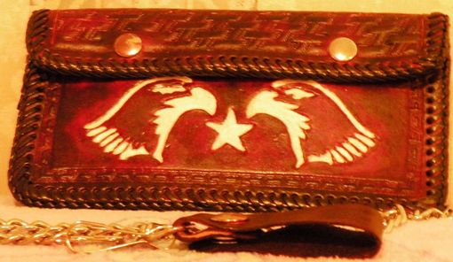Custom Made Bikers Wallet