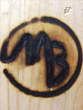 Custom Made Rustic Branding Iron