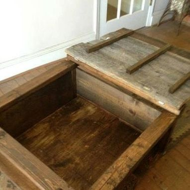 Custom Made Southern Storage Coffee Table
