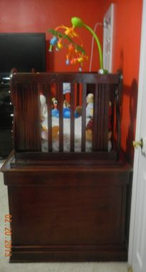 Custom Made Angels Baby Crib