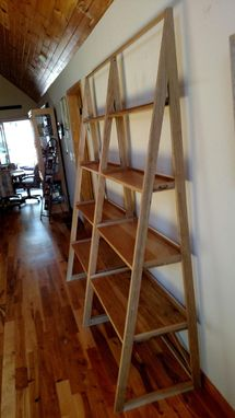 Custom Made Ladder Shelf