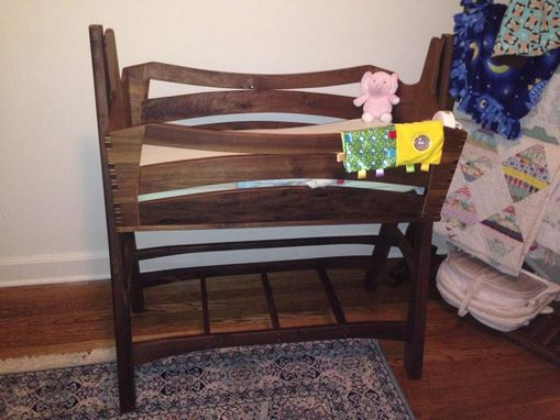 Custom Made Custom Baby Cradle