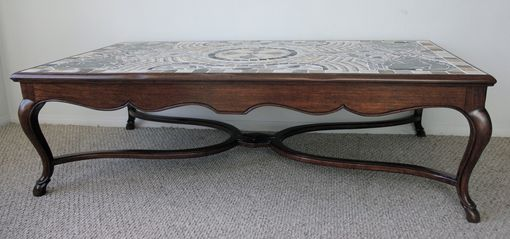 Custom Made 'Birth Of Time' Coffee Table