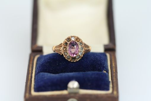 Custom Made Custom Amethyst Pendant To Resemble Heirloom
