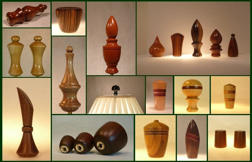 Hand Crafted Lamp Finials by Picinae Studios | CustomMade.com