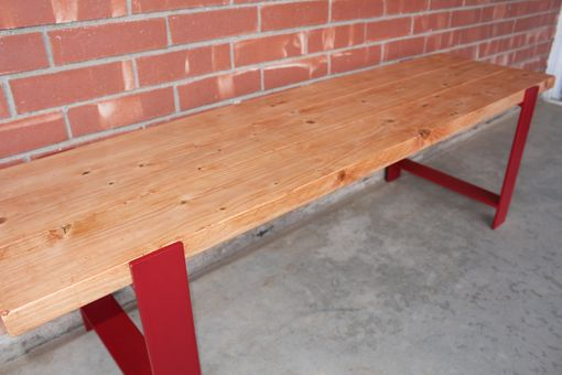 Custom Made 5 Ft. Dining Table Bench