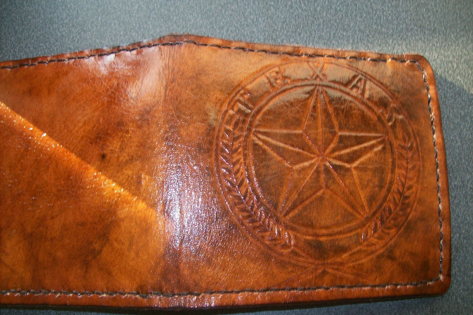 Buy A Handmade Custom Leather Wallet With Custom Interior