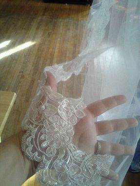 Custom Made 1930'S Wedding Veil