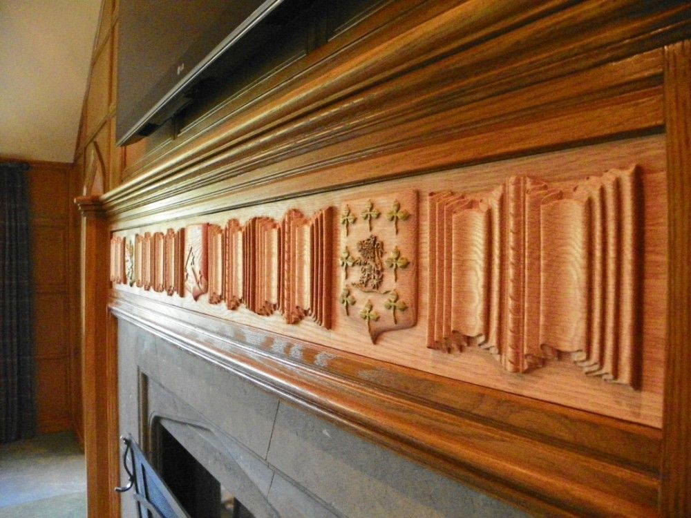 farmhouse kitchen furniture crafted custom carved fireplace mantel by carving 11638