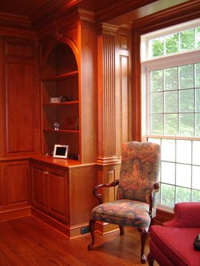 Custom Made Nicely Detailed Cherry Library